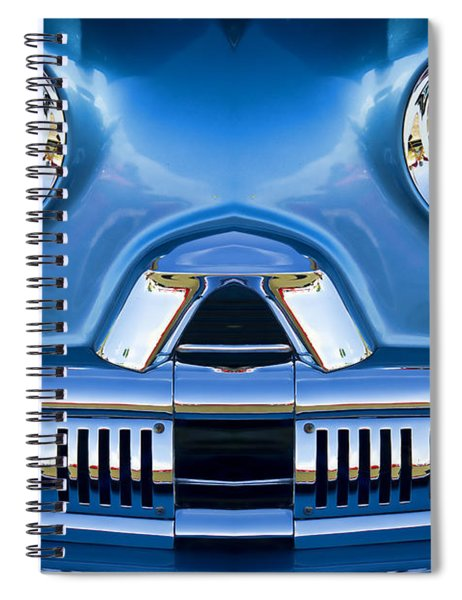 Cute Little Car Faces Number 2 Spiral Notebook