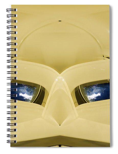 Cute Little Car Faces Number 3 Spiral Notebook