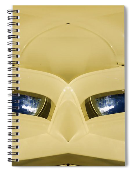 Cute Little Car Faces Number 3 Spiral Notebook