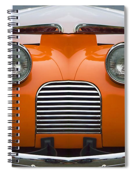 Cute Little Car Faces Number 5 Spiral Notebook