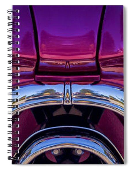 Cute Little Car Faces Number 7 Spiral Notebook