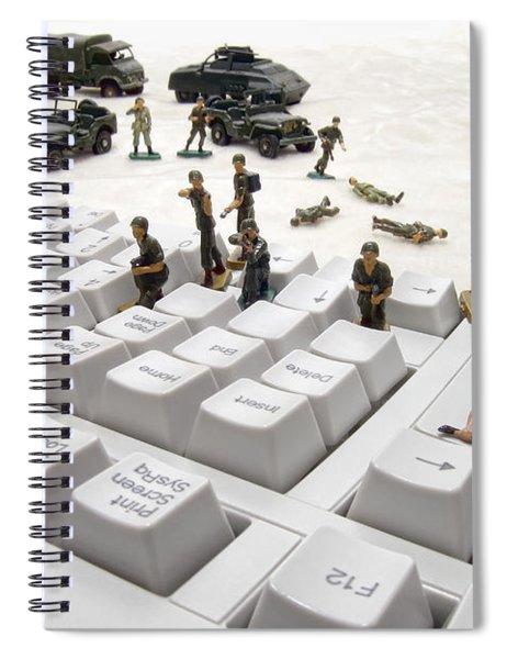 Cyber Attack Spiral Notebook