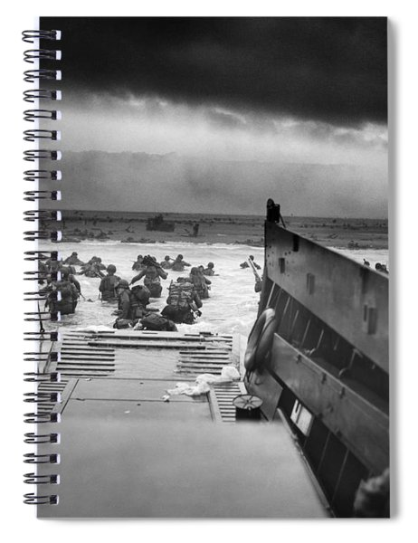 D-day Landing Spiral Notebook