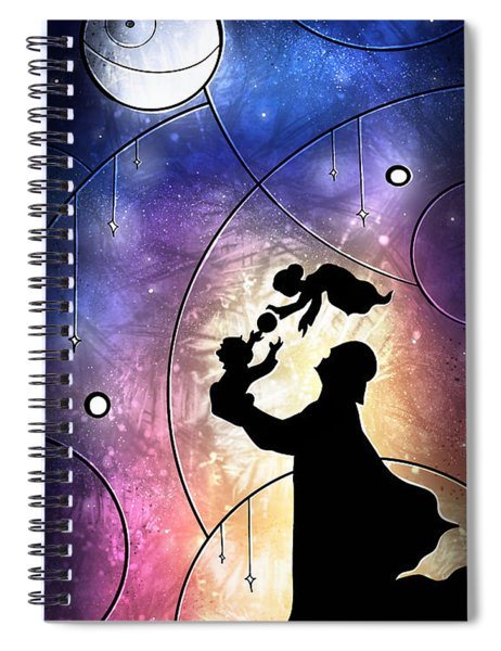 Darth Daddy Spiral Notebook