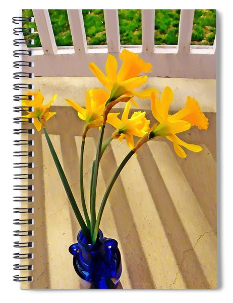 Daffodil Boquet Spiral Notebook