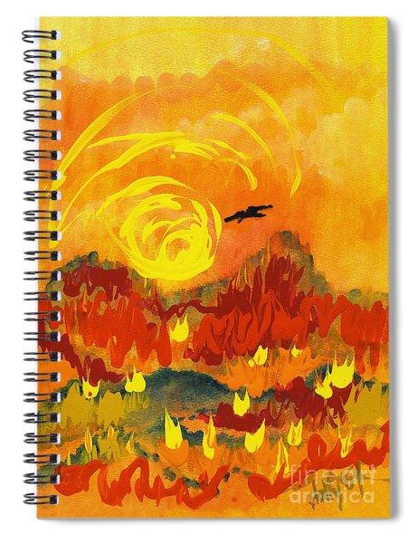D'agony Spiral Notebook
