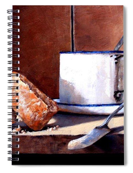 Daily Bread Ver 2 Spiral Notebook