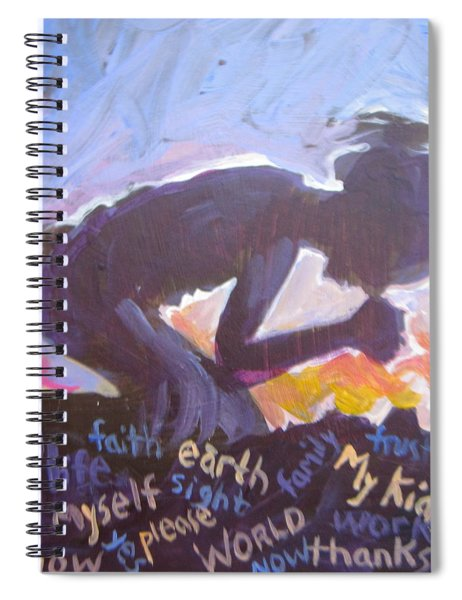 Daily Prayer Spiral Notebook