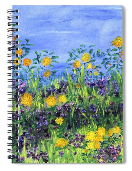 Daisy Days Spiral Notebook