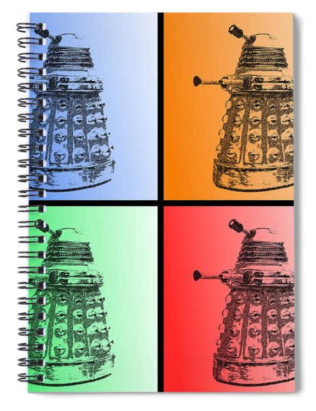 Dalek Pop Art Spiral Notebook