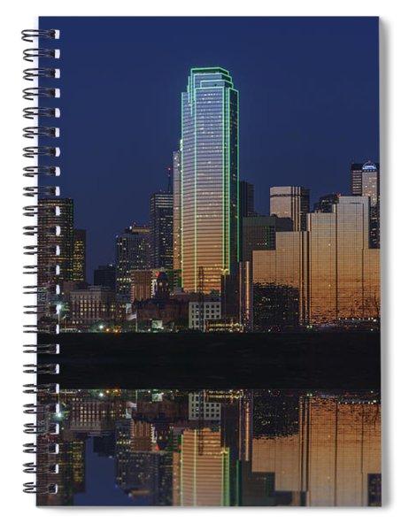 Dallas Aglow Spiral Notebook