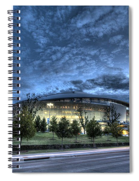 Dallas Cowboys Stadium Spiral Notebook