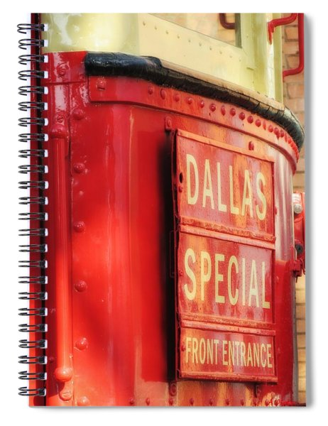 Dallas Special Front Entrance Spiral Notebook