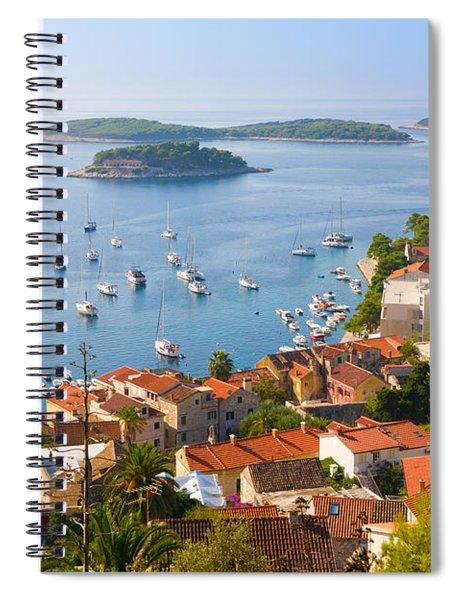 Dalmatian Coast Spiral Notebook