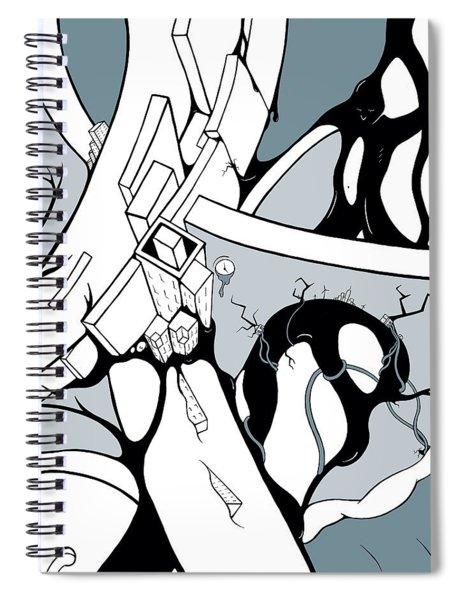Dammed Spiral Notebook