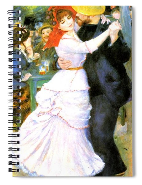 Dance At Bougival Spiral Notebook