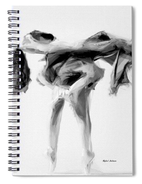 Dance Moves II Spiral Notebook