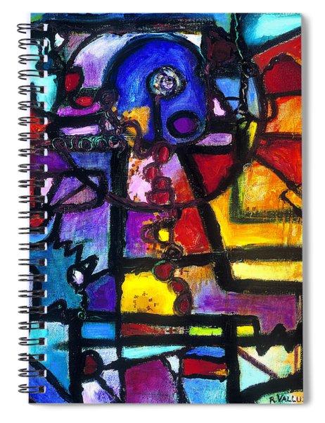 Dance Of The Gauge Bosons In Vacuum Spiral Notebook