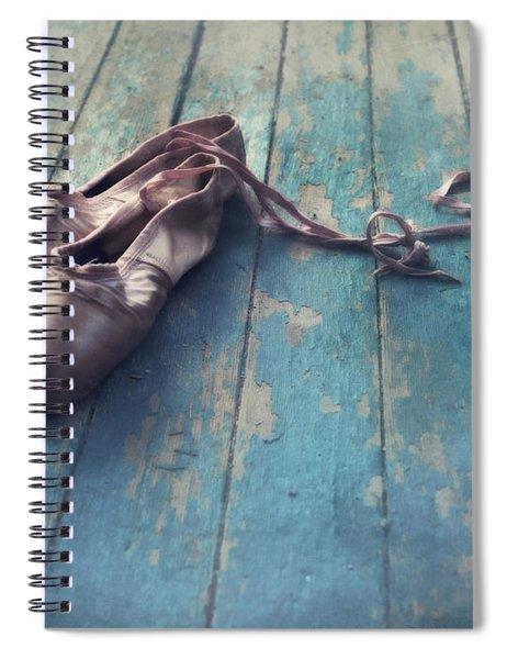 Danced Spiral Notebook