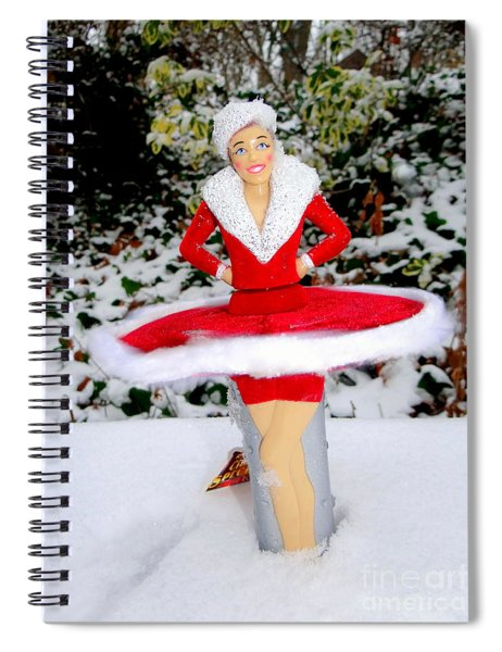 Dancing In The Snow Spiral Notebook