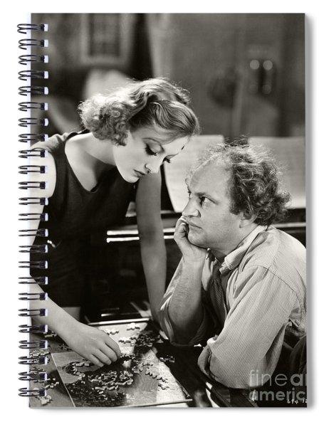 Dancing Lady 1933 Joan Crawford Larry Fine Spiral Notebook