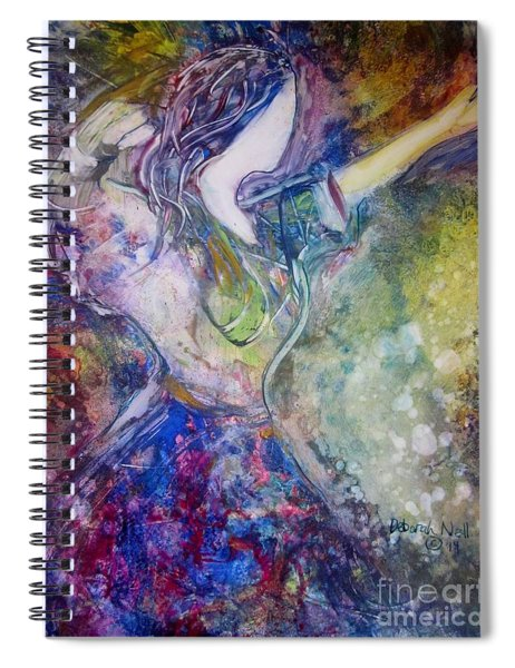 Dancing With The Lord Spiral Notebook