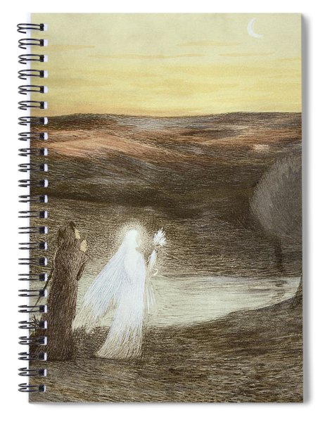 Dante And Beatrice, From Lestampe Spiral Notebook