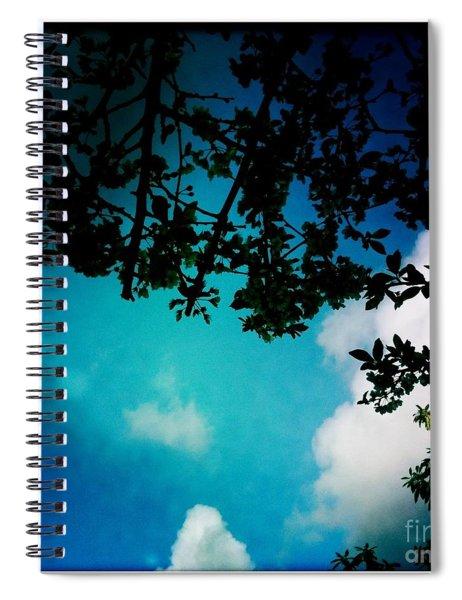 Dappled Sky Spiral Notebook