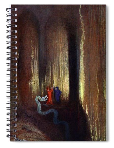 Dark Cavern, 1906 Spiral Notebook
