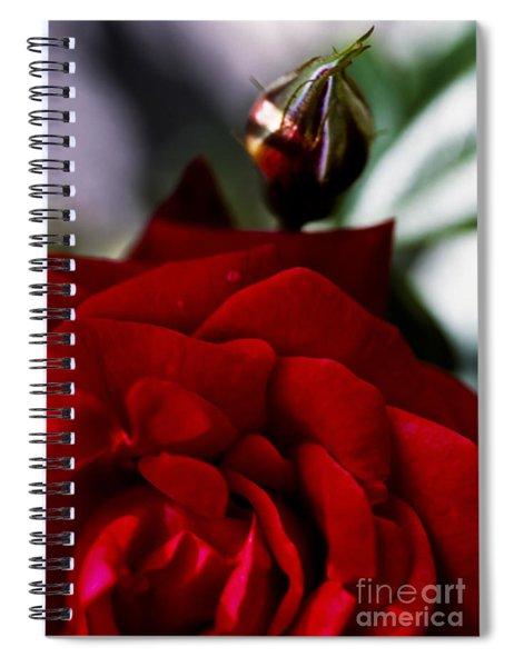 Dark Passion Spiral Notebook