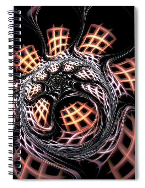 Dark Side Spiral Notebook