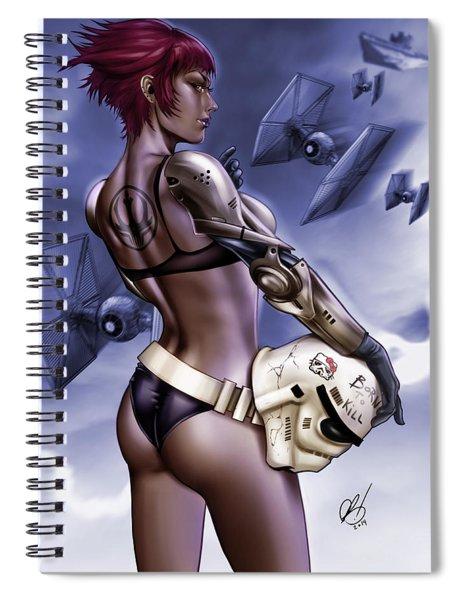 Dark Sided Spiral Notebook