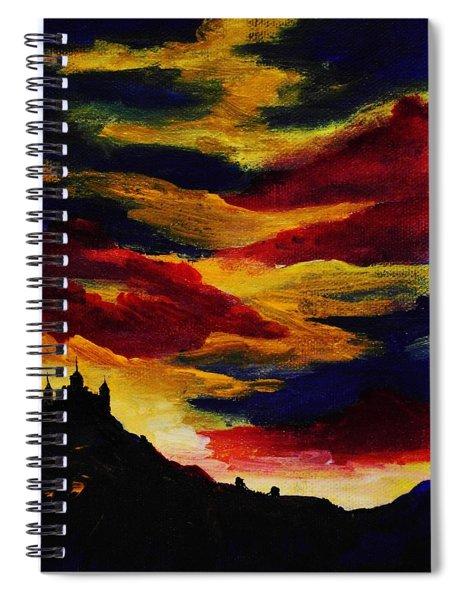 Dark Times Spiral Notebook