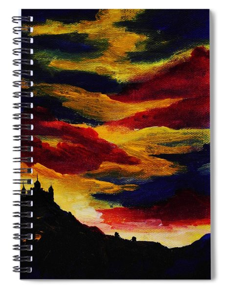 Dark Times Spiral Notebook
