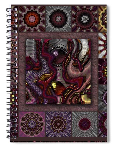 Darkened Country Redux Spiral Notebook