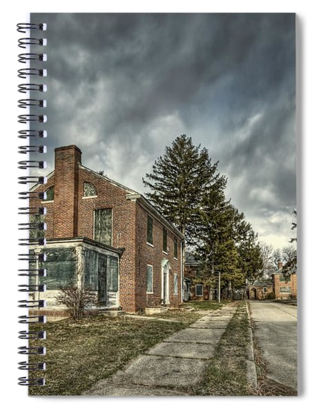 Darkened Days To Come Spiral Notebook