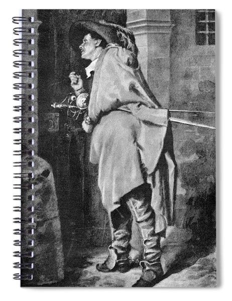 D'artagnan Spiral Notebook