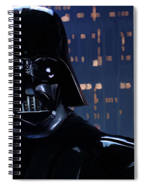 Darth Vader Spiral Notebook