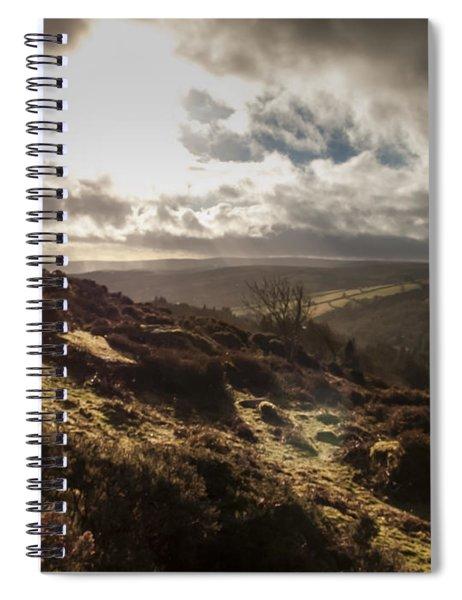 Dartmoor Drama Spiral Notebook