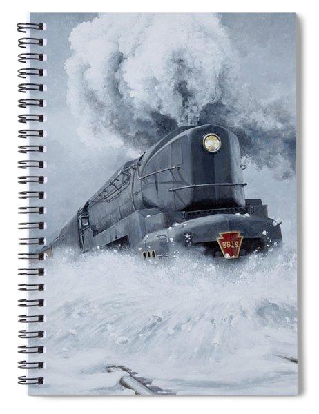 Dashing Through The Snow Spiral Notebook