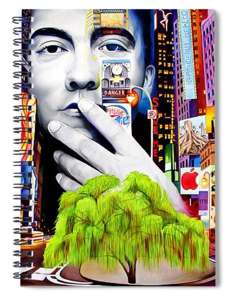 Dave Matthews Dreaming Tree Spiral Notebook