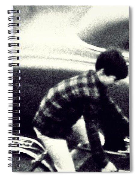 Dave On A Bike Spiral Notebook