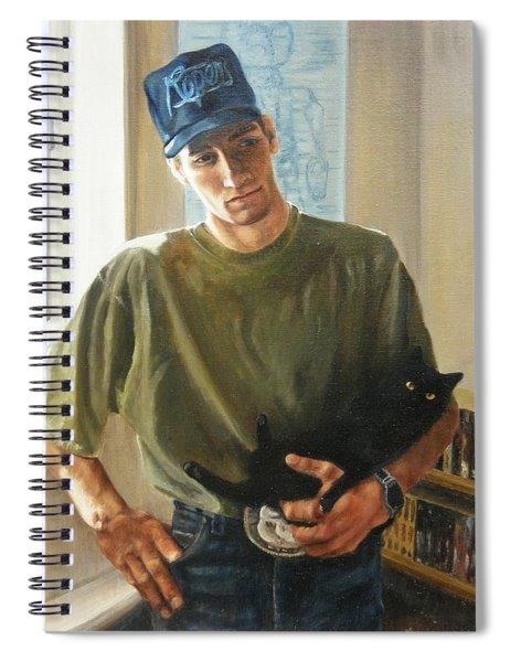 David And Pulim Spiral Notebook