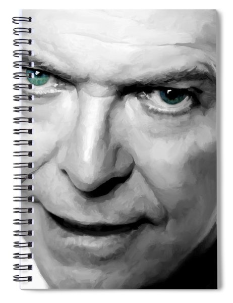 David Bowie In Clip Valentine's Day - 1 Spiral Notebook