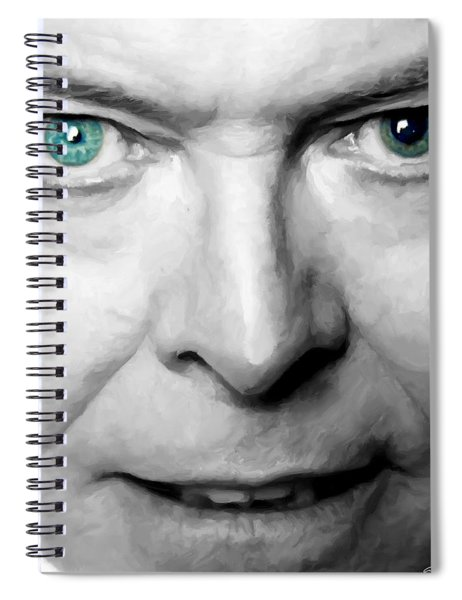 David Bowie In Clip Valentine's Day - 3 Spiral Notebook