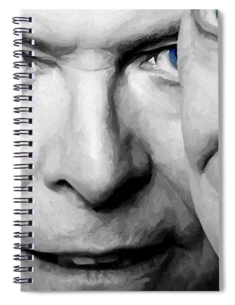 David Bowie In Clip Valentine's Day - 4 Spiral Notebook