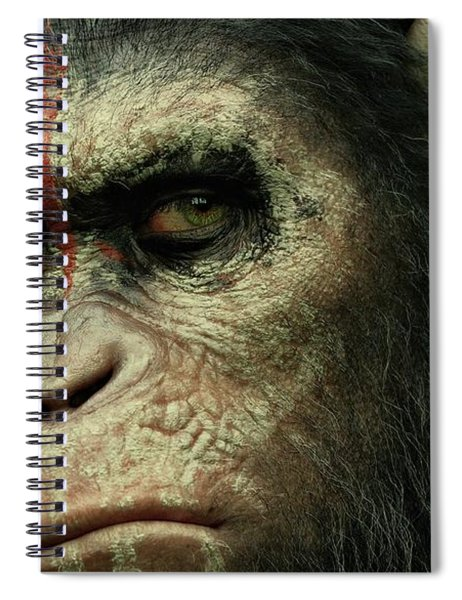 Dawn Of The Planet Of The Apes  Spiral Notebook by Movie Poster Prints