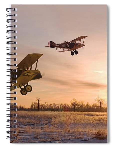 Dawn Patrol Spiral Notebook