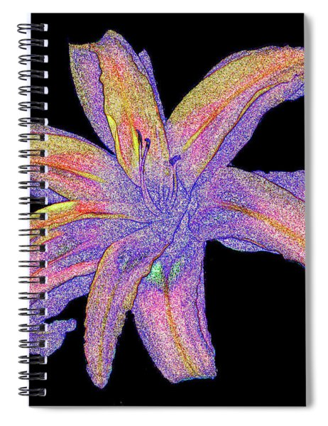 Day Lily #3 Spiral Notebook