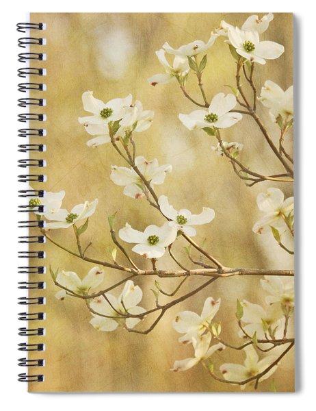 Days Of Dogwoods Spiral Notebook